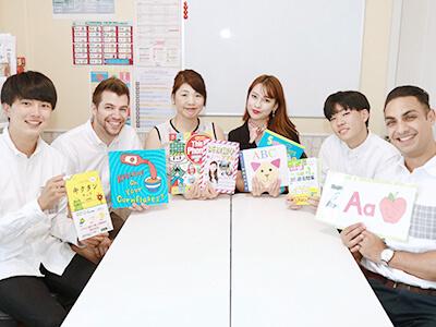 大阪・枚方の英会話スクール Heart English Schoolの先生たち